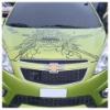 4C screen printing Car Sticker