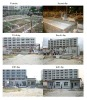 brick machinethree cylinder design by italy china well-know trademark x500 modle automatic concrete brick machine desig by italy
