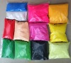 Bags of color sand