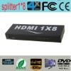 premium HDMI Splitter 1 to 8 to show video on more outputs