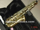 Wholesale -2011 NEW Antique Brass 54 Style Tenor Saxophone Abalone shell KEY new arrival