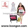 loongon barbies 11.5' doll set ball jointed doll