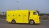 Road cross-force coefficient measurement truck