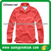 customized polyester red polo tshirt