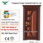 2012 security steel door new design of The Big Five Dubai Show
