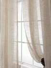 classic linen polyester sheer room curtain