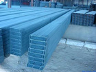 Color coated steel C section purlin