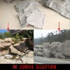 artificial rock panel for garden rockery