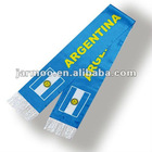 Argentina polyester soccer scarf