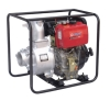 "Diesel pump with port diameter 4"" and electric start"