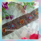new arrival popular colour embroidered trim