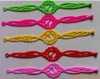 fashion silicone hollow rubber wristband bracelet (CH12323)