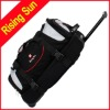 big size rolling trolley sports duffel bag