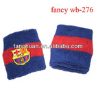 Fashion high quality wristband, embroidery sweatband