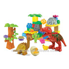 Educational and enlighten Jurassic Perion dinosaur blocks with music