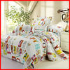colorful pirnted 4pcs bedding set home textile