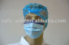 Surgical mask with anti-fog shield