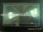 Flat Fresnel lens
