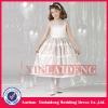 FGD002 2012 new design satin ball gown flower girl dress patterns