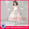 FGD002 2012 new design satin ball gown flower girl dress patterns