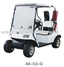Two Seater Electric golf car AX-C2-G with powerful motor and CE certificate