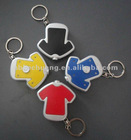 clothes led keychain light