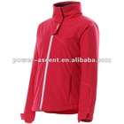 2012 ladies ski wear jacket with detachable hood