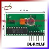 1Mhz bandwidth anti-jamming RF receiver module
