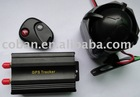 Vehicle gps tracker with remote control for door and ACC alarm
