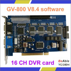 V8.4 16CH CCTV DVR card GV800 (Support Win7 64bit)