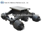 trailer axle assembly for transpotation