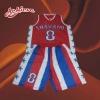 100%polyester custom sublimation basketball wear