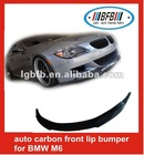 auto carbon front lip bumper for BMW M6