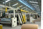High speed cardboard production line machine