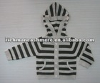 Baby Cashmere Hoodie Stripe Sweater