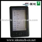 digital ebook reader ,5inch e-book reader