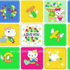 Baby cartoon heat transfer pritning paper & fabric -LY2918