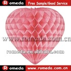 2012 the best fashion honeycomb paper lantern with CE certificate