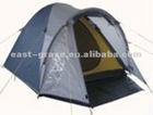 3 person tunnel camping tent with a hall