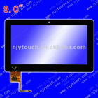 capacitive touch screen 9 inch