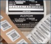 custom tamper proof void seal;adhesive GEOFFNET sticker;security void barcode label
