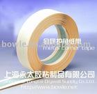 Metal corner tape for gypsum boad application
