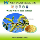 White Willow Bark or Salix Alba Salicin 10% to 98% by HPLC