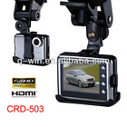 Real full HD 1080P car video recorder with Ambaralla solution High quality(CRD-503)