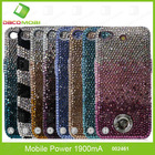 Diamond 1900mAh Battery Case For iPhone 4/4S Power Banak For iPhone 5