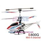 syma s800g mini 4ch indoor metal structure rc helicopter with gyro