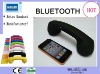 High quality rubber coating retro Bluetooth handset/wireless retro Bluetooth handset