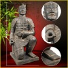Terracotta warriors replica of Kneeling archer waterproof Statue