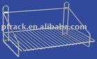 Hanging stainless steel dish rack
