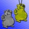 Reflective bear badge